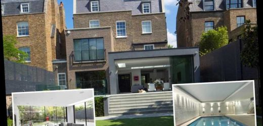 Stunning seven-bedroom home up for grabs for £19m and is complete with a swimming pool, gym and even mini football pitch