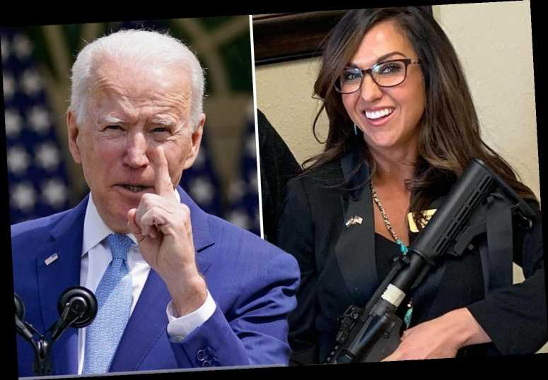 Biden blasted as 'tyrant' over push to ban assault weapons as GOP Rep Lauren Boebert touts '2nd Amendment is absolute'