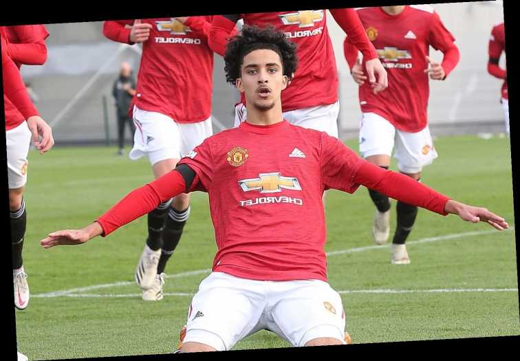 Man Utd tie Zidane Iqbal down to first professional contract with 17-year-old star impressing in youth ranks