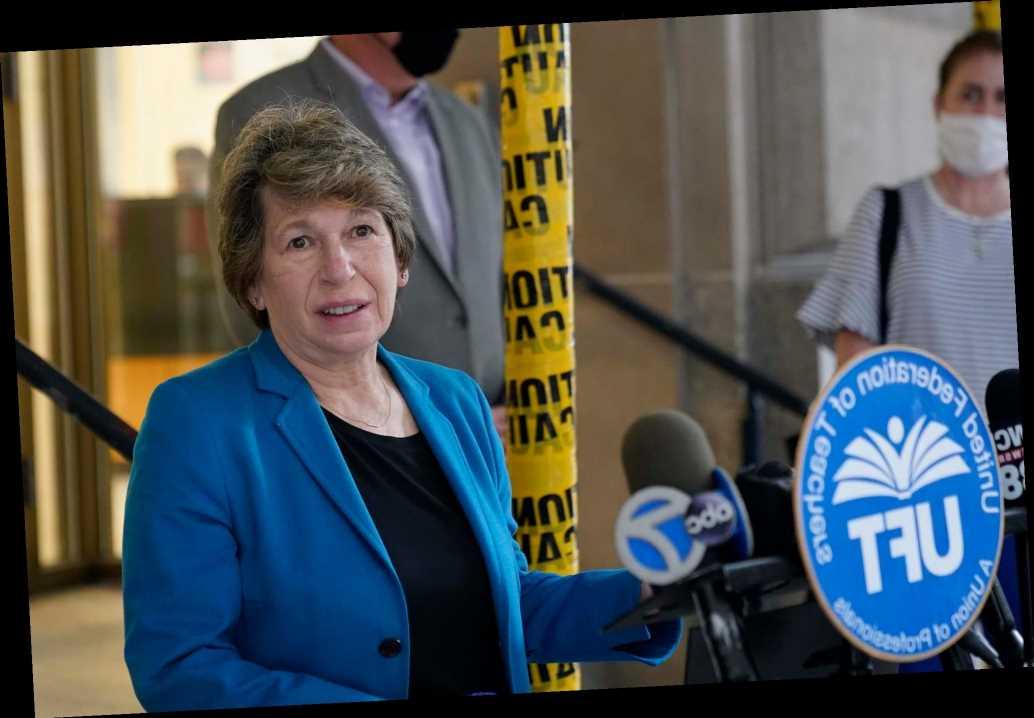 Teachers' union boss Randi Weingarten's portrait of hypocrisy
