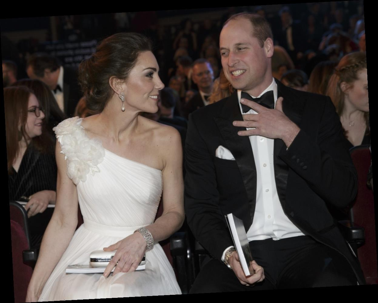 Prince William will send in two videos for this weekend's BAFTA ceremonies