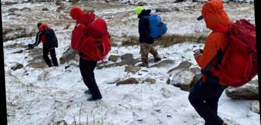 Dad drives 170 miles to help daughter stranded on Snowdonia – and ends up needing to be rescued himself
