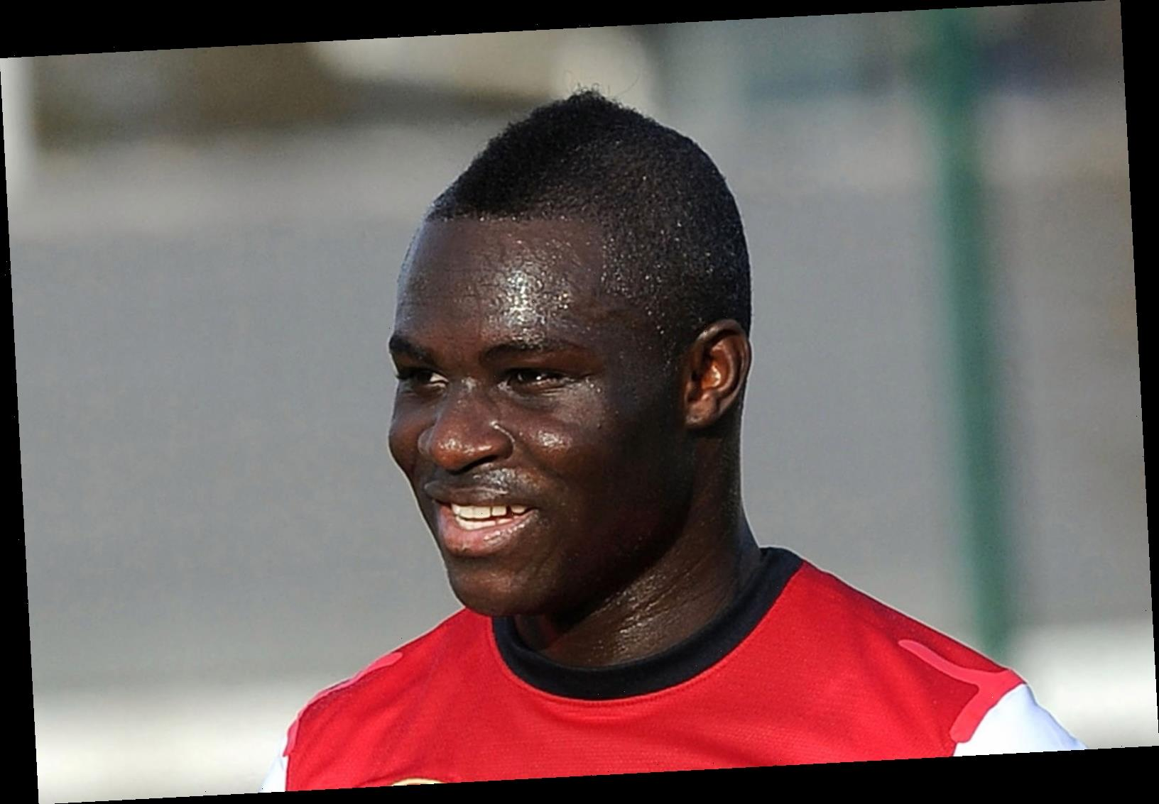 Arsenal cult hero Emmanuel Frimpong dreams of shooting porn with 20 'babes' in Russia and misses their 'beautiful' women
