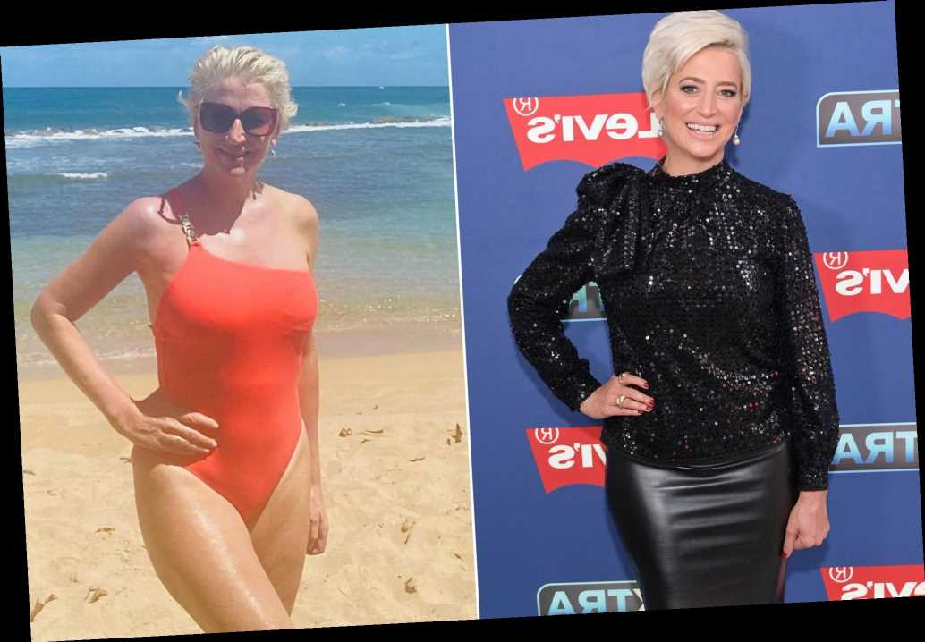 Dorinda Medley shows off 14-pound weight loss in a swimsuit