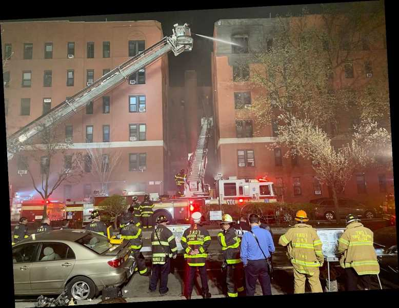 Apartment Fire in NYC Injures 21 People, Displaces 90 Families: 'Everybody Was Panicking'