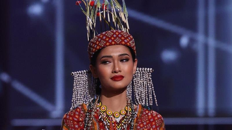 'I was so scared': Miss Universe Myanmar arrives for pageant with a message