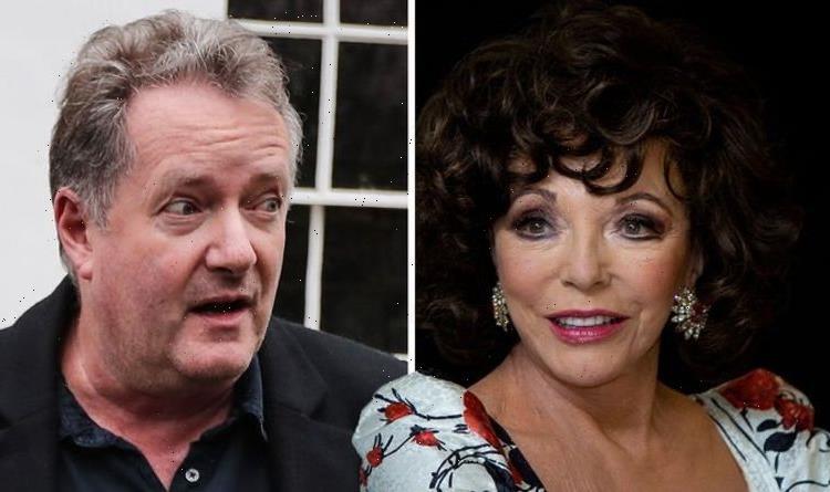 'You've always been grosser!' Piers Morgan taken down by Dame Joan Collins ahead of chat