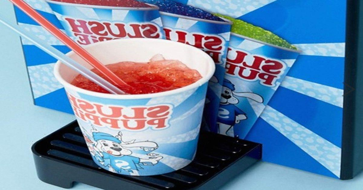 Aldi is selling Slush Puppie machines this weekend for £55 to get customers ready for summer