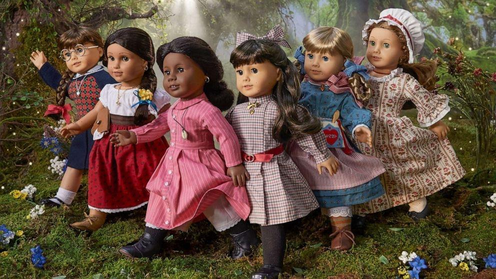 American Girl brings back its original 6 heroine dolls for 35th anniversary