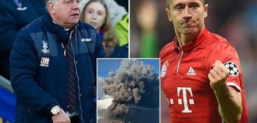 Bayern Munich striker Robert Lewandowski didn't sign for Blackburn in 2010 – because of VOLCANO eruption – The Sun