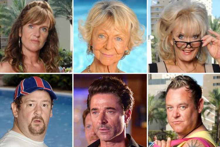 Benidorm cast – where they are now? From Asda delivery driver to a grown-up child star