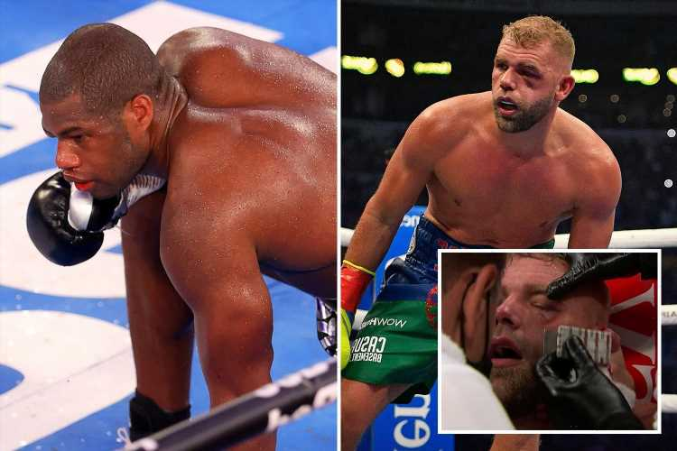 Billy Joe Saunders pre-fight comments come back to haunt him after claiming he'd rather DIE than quit against Canelo