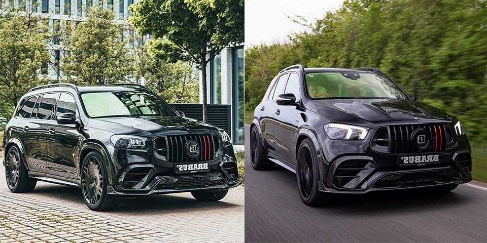 Brabus Equips Mercedes-AMG's GLE 63 S and GLS 63 S With 800 HP V8s