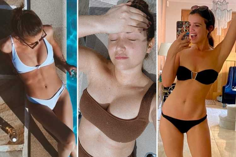 Celebs stripping off in the heatwave – from Jacqueline Jossa to Ulrika Jonsson and Lucy Meck