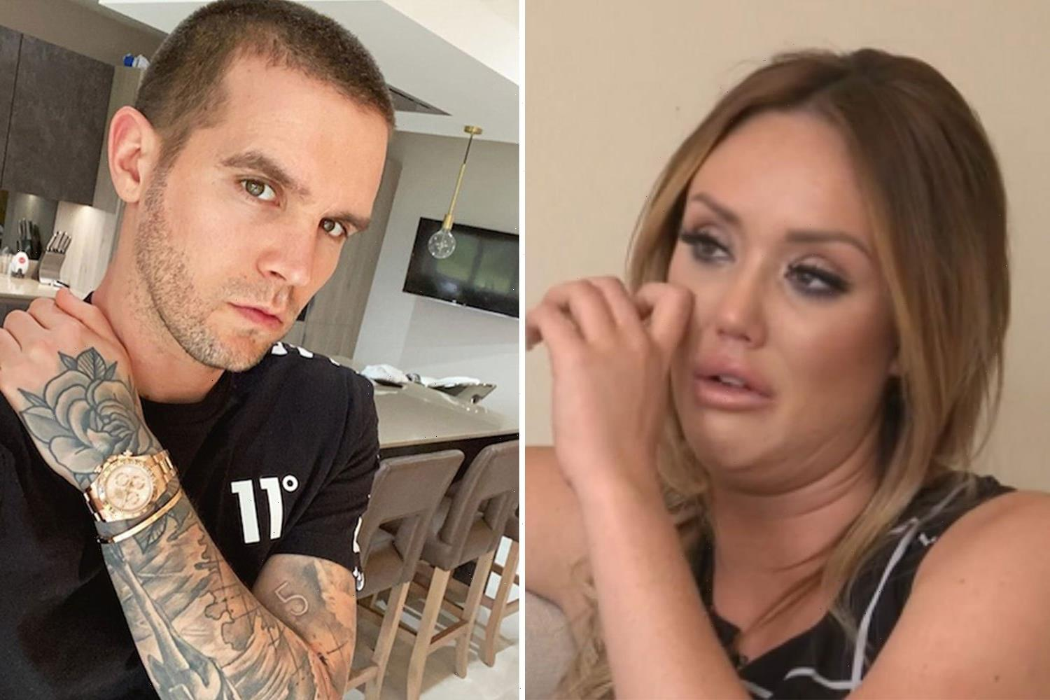 Charlotte Crosby brands Gaz Beadle the 'biggest idiot' and claims he was her 'worst' boyfriend EVER on her birthday