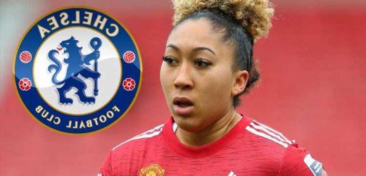 Chelsea 'plotting transfer swoop for Manchester United ace Lauren James', sister of men's star Reece