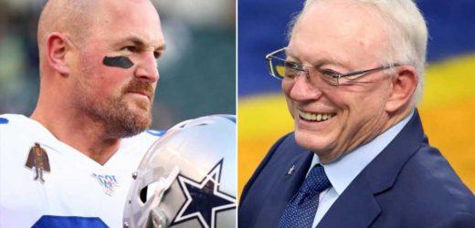 Cowboys owner Jerry Jones joins former player Jason Witten for birthday dinner