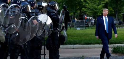 DOJ asks judge to dismiss BLM protesters' case against Trump over Lafayette Square