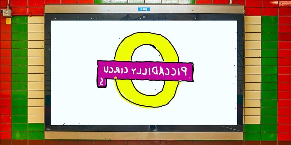 David Hockney's London Underground Redesign Upsets The Internet
