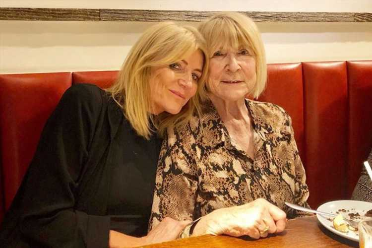 Devastated Michelle Collins reveals her mum has died after cancer battle