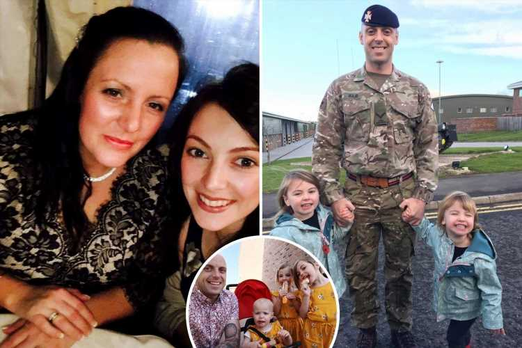 Distraught family of 'amazing' dad-of-four soldier, 37, killed by drug driver slam 'gut-wrenching' three-year sentence