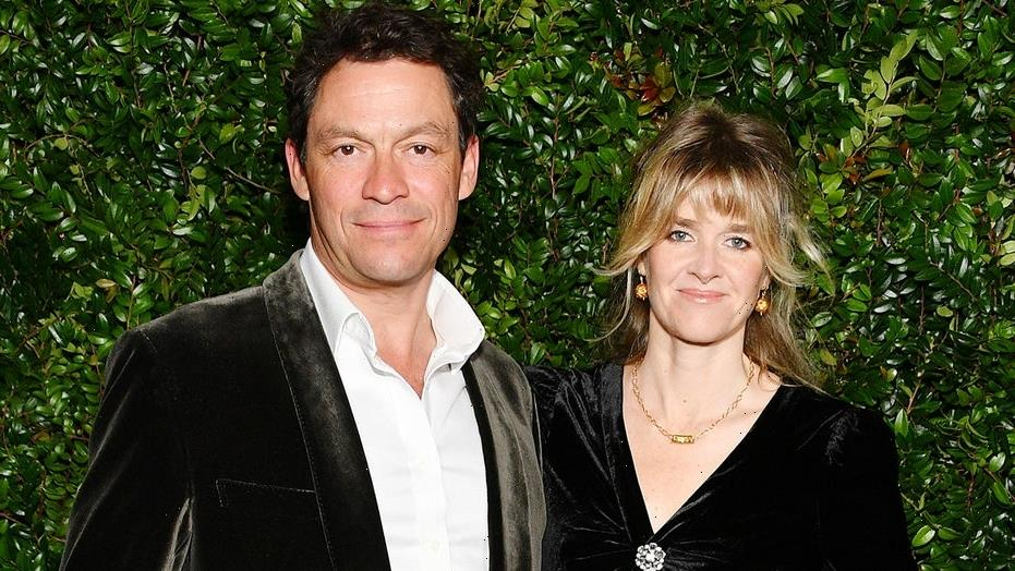 Dominic West's wife gushes about their marriage after Lily James photo scandal