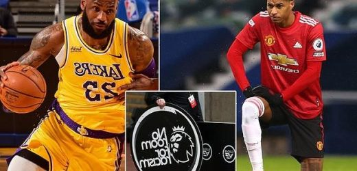 EXCLUSIVE: Football calls on NBA stars to help fight online abuse