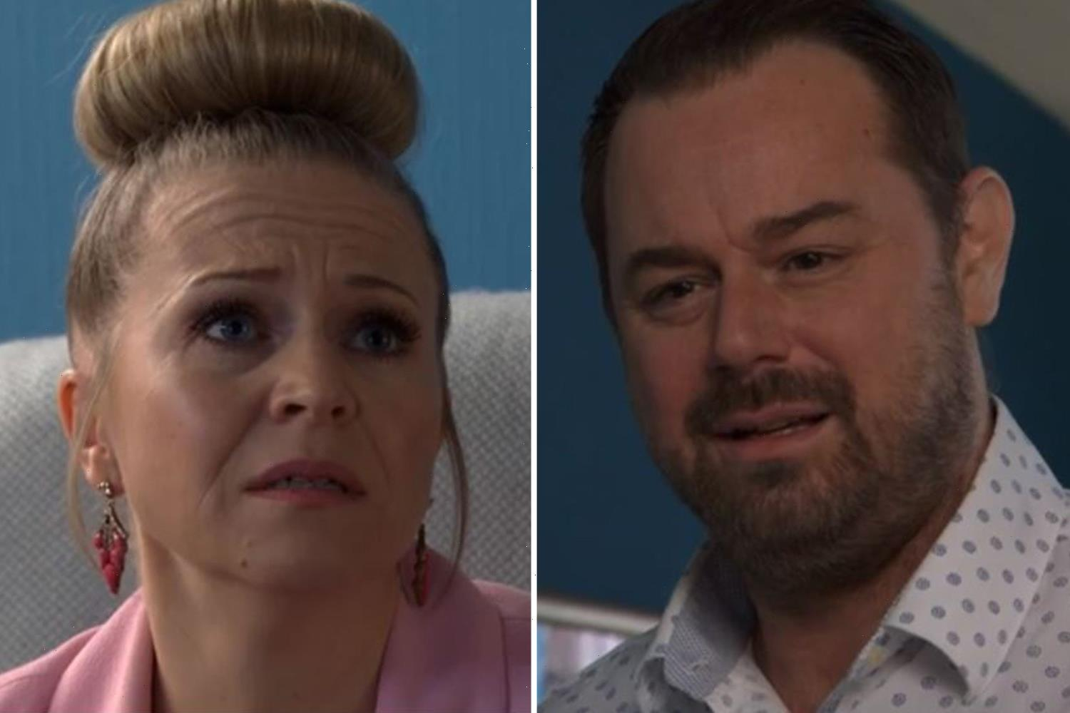 EastEnders bombshell as Linda Carter reveals she's pregnant and it's NOT Mick's baby
