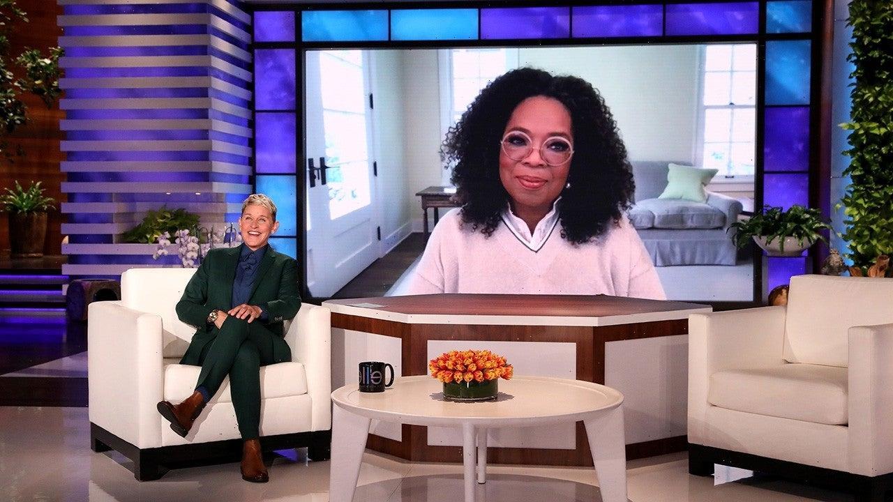 Ellen DeGeneres and Oprah Winfrey Discuss Ending Their Talk Shows
