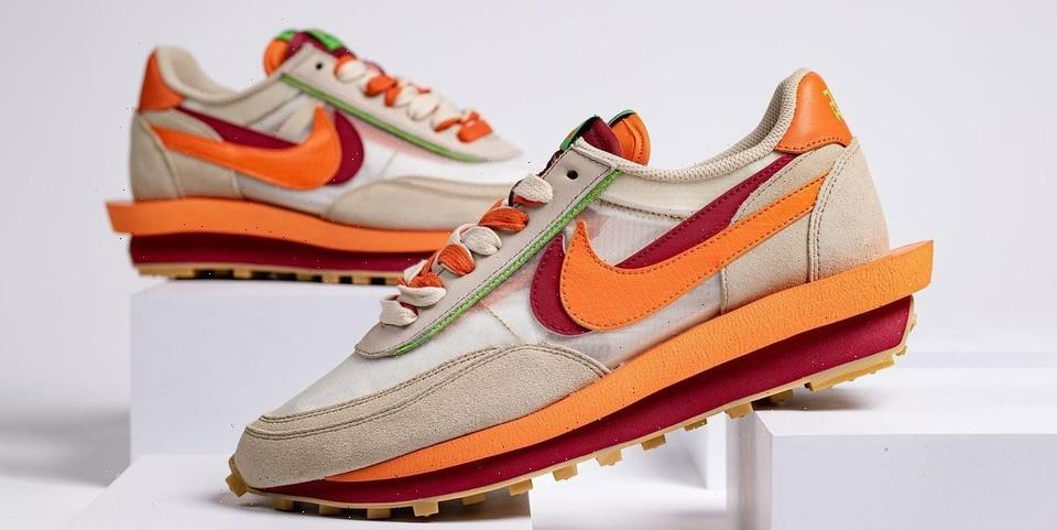 First Look at the CLOT x sacai x Nike LDWaffle