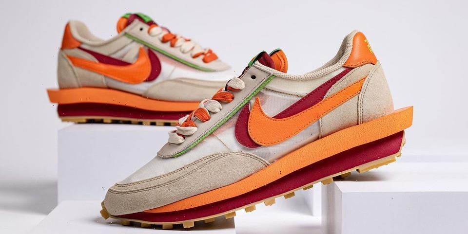 First Look at the CLOT x sacai x Nike LDWaffle