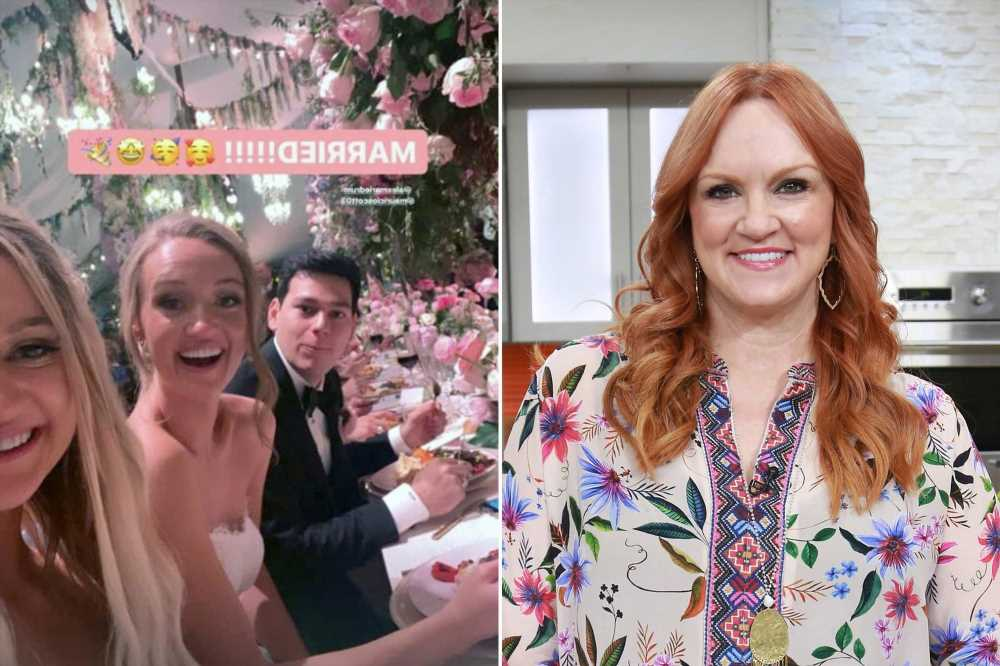 Food Network star Ree Drummond's daughter Alex gets married