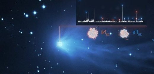 Heavy metal vapours are detected in comets throughout our Solar System