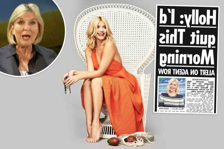 Holly Willoughby backed by Fern Britton in row with ex-agents over future earnings