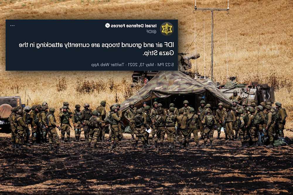 How one ambiguous IDF tweet led to false reports of Gaza ground attack