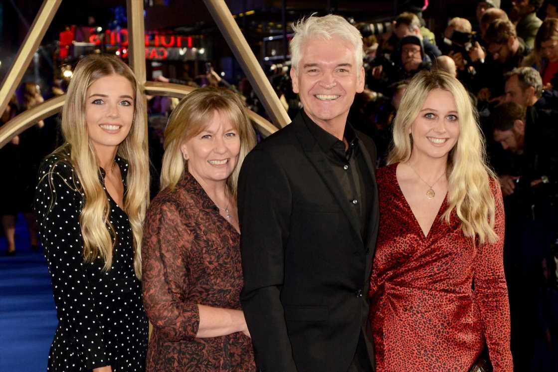 Inside This Morning's Philip Schofield's role as doting dad to daughters Molly and Ruby – The Sun