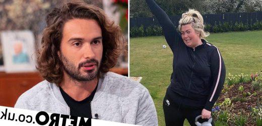 Joe Wicks supports Gemma Collins' 'inspiring' fitness journey