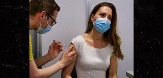 Kate Middleton Gets COVID Vaccine Shot