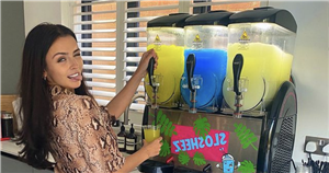 Love Island star Kady McDermott installs a slush machine into her gorgeous bungalow renovation