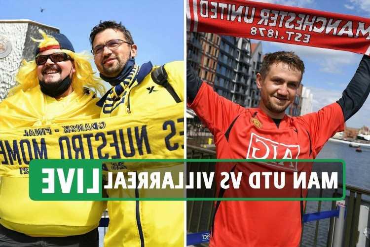 Man Utd vs Villarreal LIVE: Stream FREE, TV channel, team news and kick-off time – Europa League final latest updates