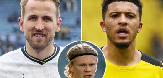Man Utd 'prefer to seal Jadon Sancho transfer over Harry Kane and will let Cavani continue until Haaland quits Dortmund'