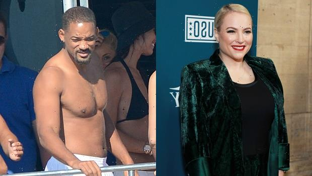 McCain Gushes Over Celeb Crush Will Smith After New, Viral Shirtless Pic: 'He Can Get It' No Matter What