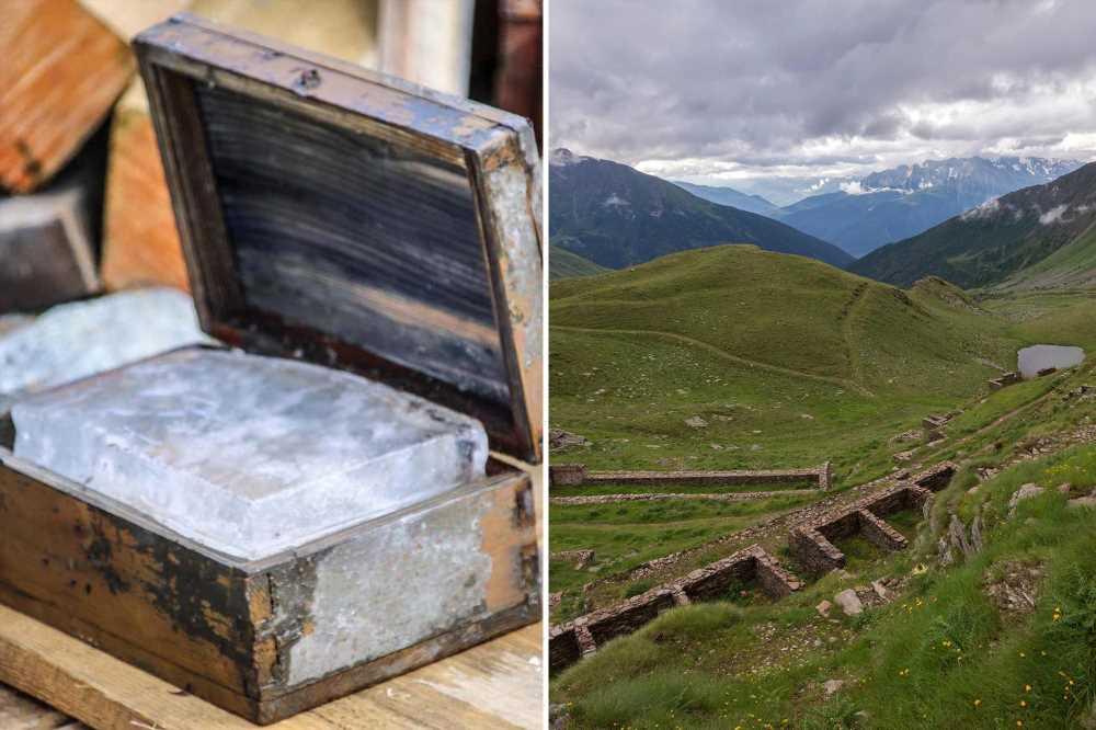Melting Italian glacier reveals 'open-air museum' of World War I relics