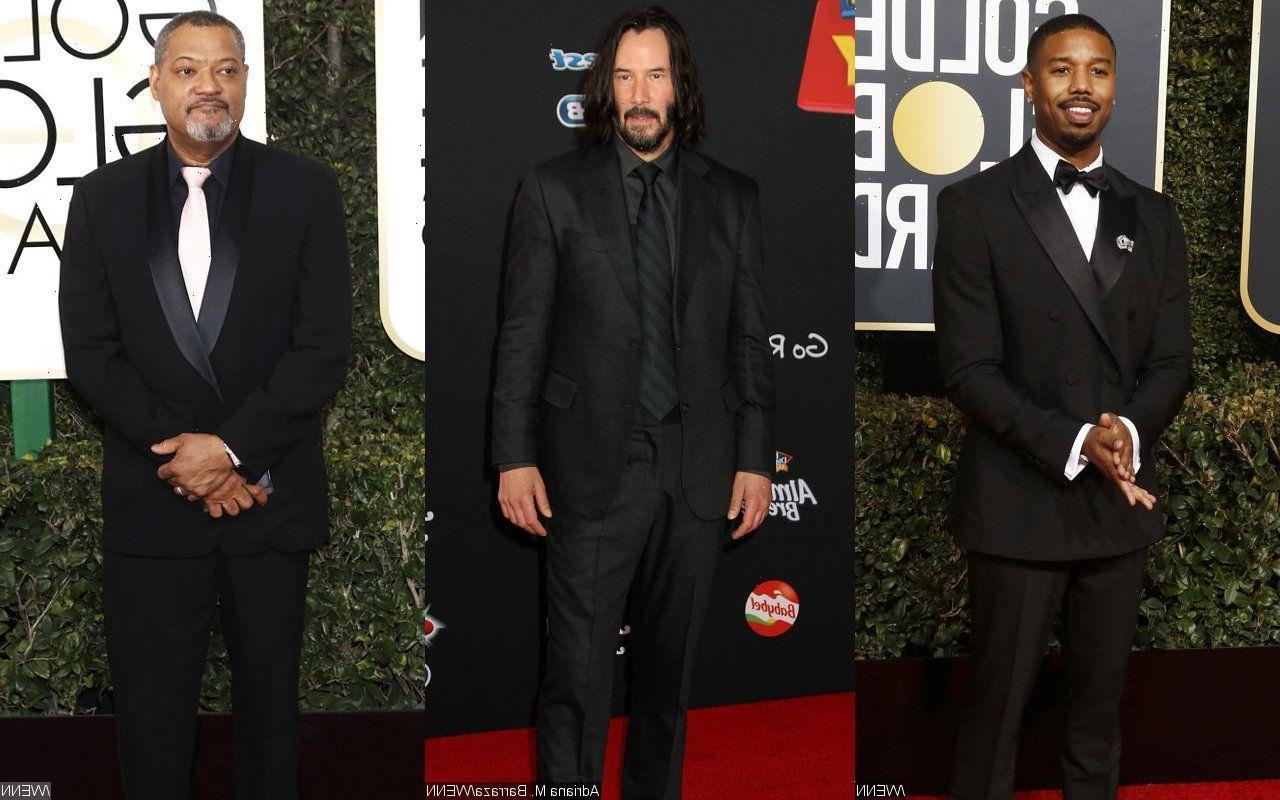 Michael B. Jordan Names Keanu Reeves and Laurence Fishburne His Heroes