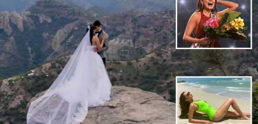 Miss Universe winner Andrea Meza forced to deny she is married after 'wedding pics' emerge that could strip her of title