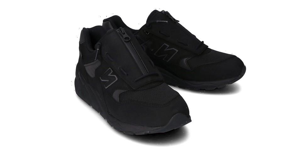 "New Balance MT580 Receives a Sleek ""Triple Black"" Makeover"