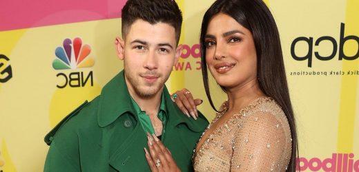 Nick Jonas and Priyanka Chopra Pose Together at Billboard Music Awards