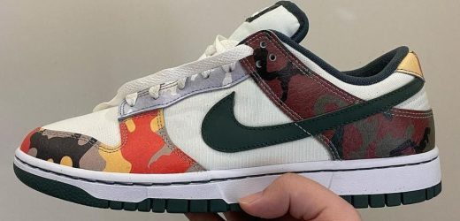"""Nike Dunk Low """"Camo"""" Presents a Plethora of Camouflage Patterns"""