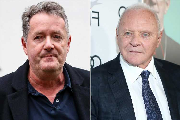 Piers Morgan reveals Sir Anthony Hopkins ghosted him after saying he could 'come over any time'