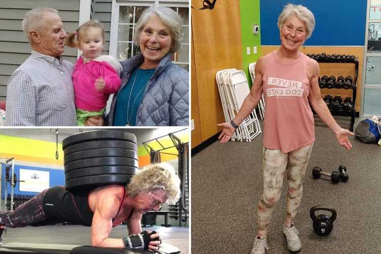 Powerlifting champ, 71, who spends 20 hours a week lifting weights hits back at claims she's 'too old' to be at the gym